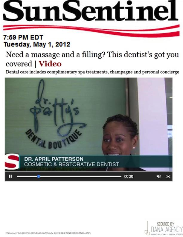 Dr. Patty on Sun Sentinel, April 25, 2012
