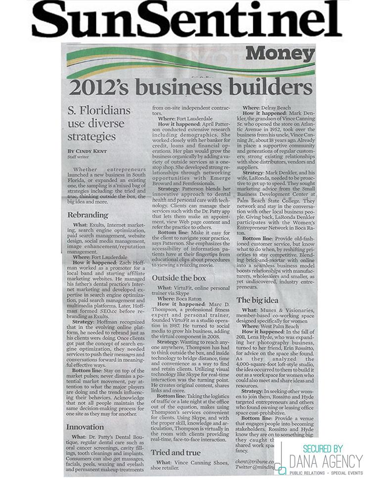 Dr. Patty on Sun Sentinel, January 3, 2013