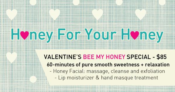 Love Month Special: Honey Facial & Lip Treatment